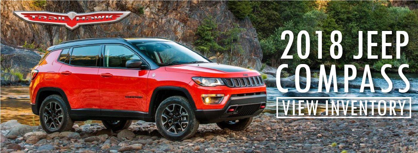 SET YOUR OWN DIRECTION WITH THE NEW 2018 JEEP COMPASS