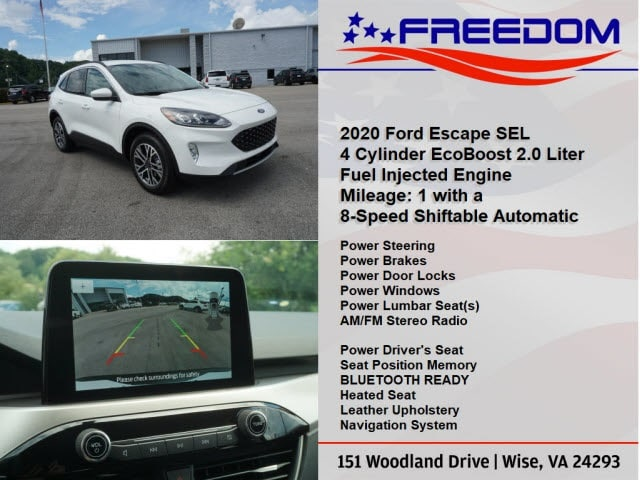 new 2020 ford escape for sale at freedom auto group vin 1fmcu9h99luc00148 new 2020 ford escape for sale at