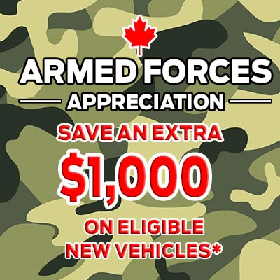 Ford Military Discounts in Edmonton