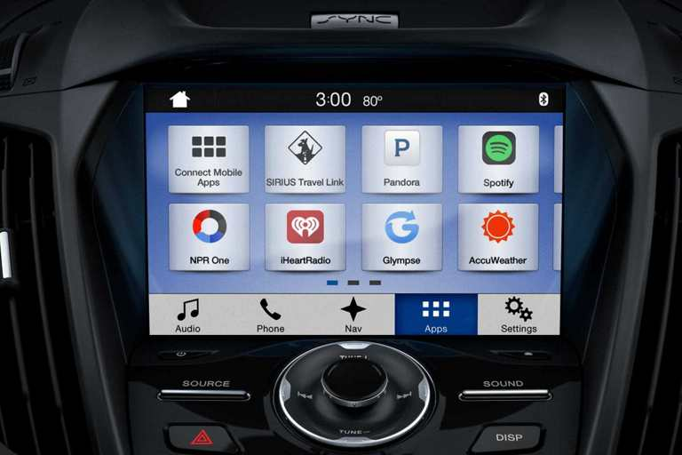 SYNC3 with Apple CarPlay and Android Auto