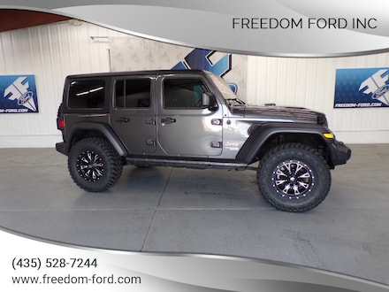 2018 Jeep Wrangler Unlimited Sport 4x4 4dr SUV (Midyear Release) SUV