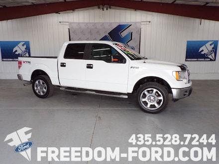 2013 Ford F-150 XLT 4x4 4dr Supercrew Styleside 5.5 ft. SB Pickup Truck
