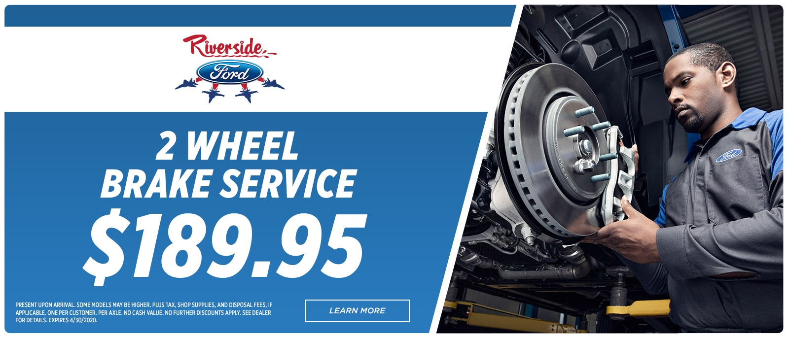 Riverside Ford Service-1600x686 - 2 Wheel Brake | Havelock, NC