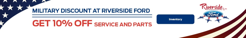 Military Discount at Riverside Ford