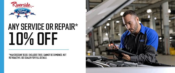 10% Off Any Service or Repair