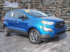 New 2020 Ford EcoSport S SUV For Sale in Havelock, NC
