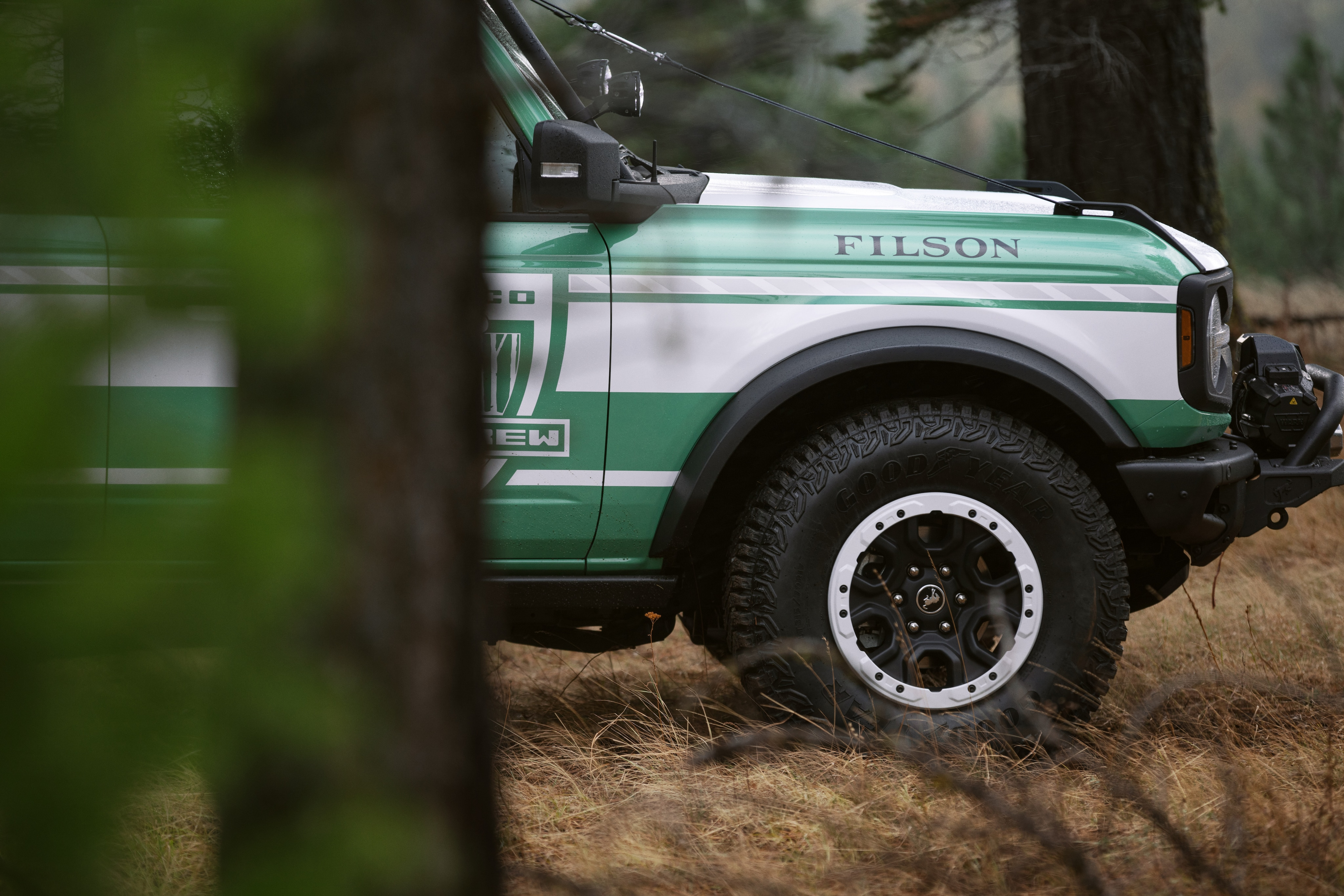 Ford Unveils the Bronco + Filson Wildland Fire Rig | Havelock, NC