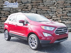 New 2020 Ford EcoSport Titanium SUV For Sale in Havelock, NC