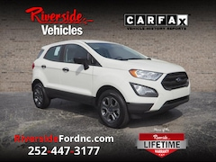 New 2021 Ford EcoSport S SUV Havelock, NC