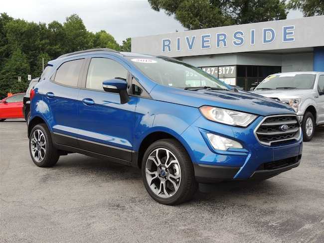 New 2018 Ford EcoSport SE SUV for sale or lease in Havelock, NC