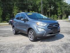 New 2018 Ford EcoSport Titanium SUV Havelock, NC