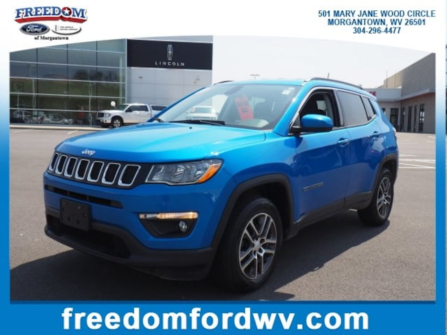Used 2017 Jeep Compass Latitude Latitude 4x4 for sale in Morgantown, WV