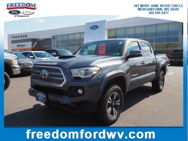 Used 2017 Toyota Tacoma TRD Sport TRD Sport Double Cab 5 Bed V6 4x4 AT for sale in Morgantown, WV