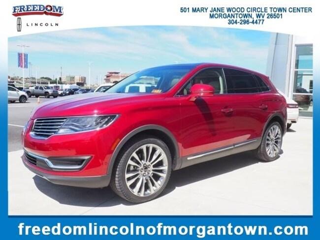 New 2018 Lincoln Mkx For Sale Morgantown Wv Vin 2lmpj8lr3jbl47391