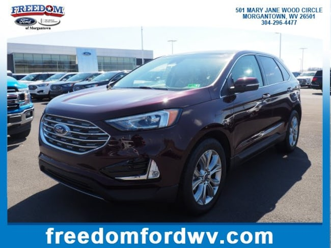 New 2019 Ford Edge Titanium SUV for sale in Morgantown, WV