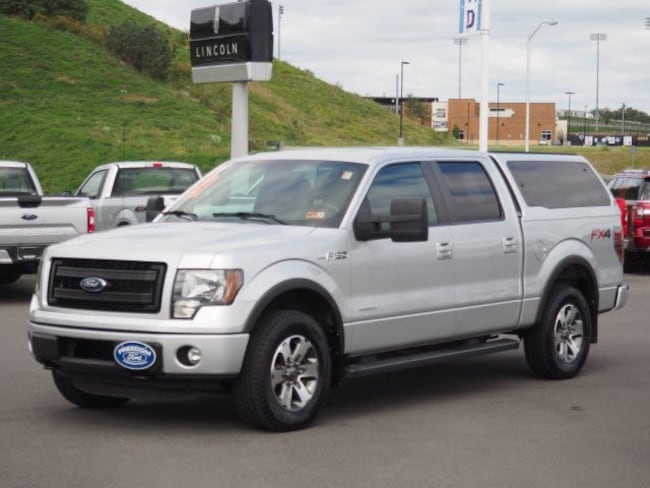 Used 2013 Ford F-150 FX4 4x4 FX4  SuperCrew Styleside 5.5 ft. SB for sale in Morgantown, WV