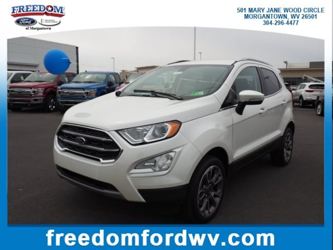 New 2019 Ford EcoSport Titanium SUV for sale in Morgantown, WV