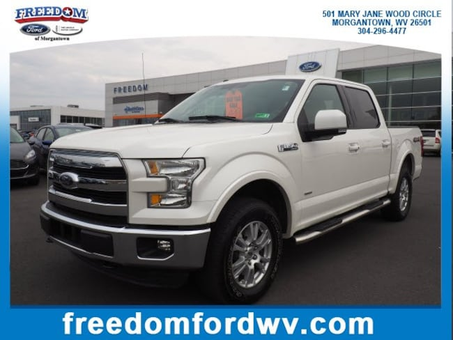 Used 2016 Ford F-150 Lariat 4WD SuperCrew 145 Lariat for sale in Morgantown, WV