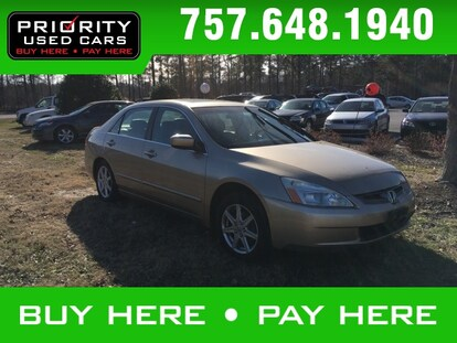 Priority Buy Here Pay Here >> Used 2004 Honda Accord For Sale At Priority Nissan Newport