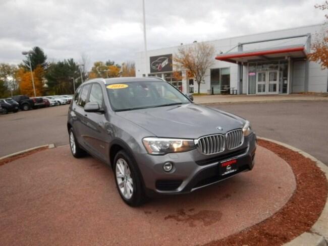 Used 2016 BMW X3 xDrive28i SAV in South Burlington