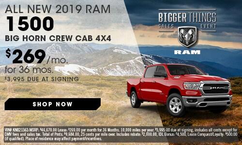 May | 2019 Ram 1500 Big Horn