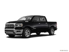 Used 2019 Ram 1500 BIG HORN BLACK CREW CAB 4X4 5'7 BOX Crew Cab 5.7 ft Bed for sale in Freehold NJ