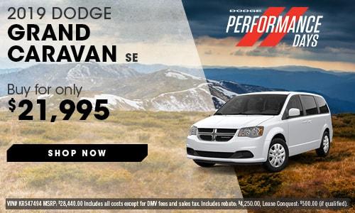 May | 2019 Dodge Grand Caravan