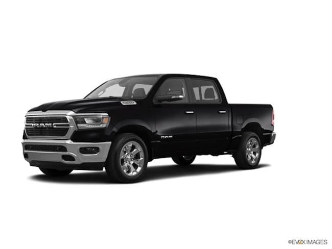 New 2019 Ram 1500 BIG HORN BLACK CREW CAB 4X4 5'7 BOX Crew Cab 5.7 ft Bed for sale in Freehold