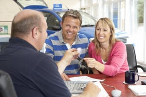 car dealer couple