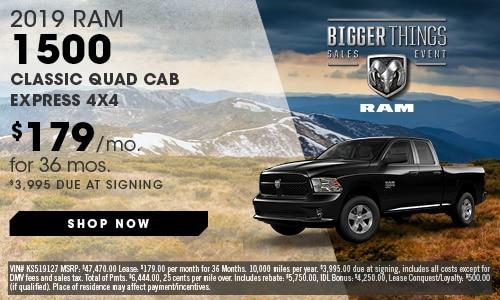 May | 2019 Ram 1500 Classic