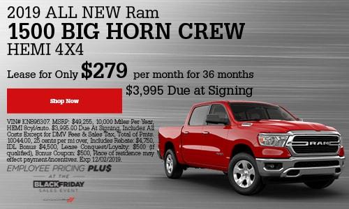 2019 Ram 1500 Big Horn Crew HEMI 4x4