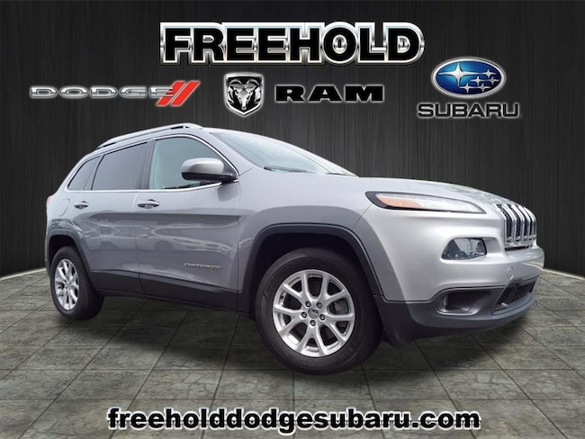 Used 2014 Jeep Cherokee LATITUDE 4X4 SUV for sale in Freehold NJ