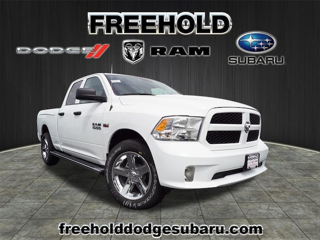 New 2018 Ram 1500 EXPRESS QUAD CAB 4X4 6'4 BOX Quad Cab 6.4 ft Bed for sale in Freehold