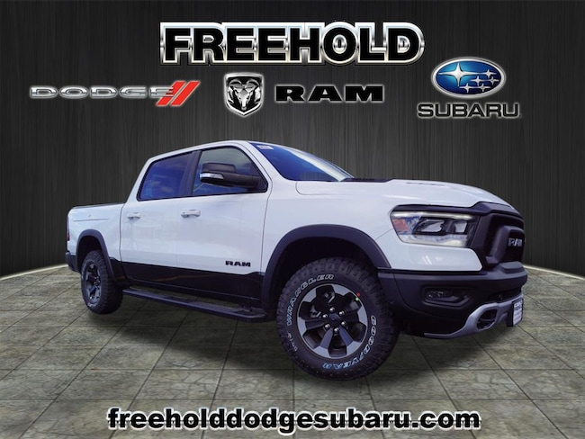 New 2019 Ram 1500 REBEL CREW CAB 4X4 5'7 BOX Crew Cab 5.7 ft Bed for sale in Freehold