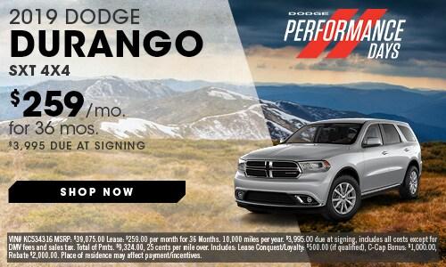 May | 2019 Dodge Durango