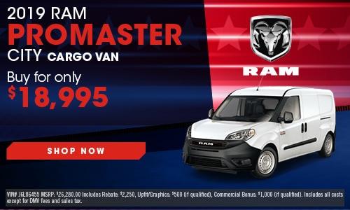 2019 Ram ProMaster