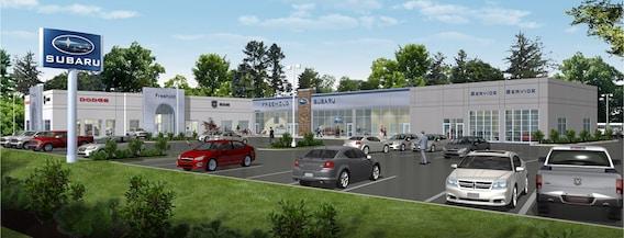 Dodge Dealers In Nj >> Freehold Dodge Subaru New Dodge Subaru Ram Dealership In
