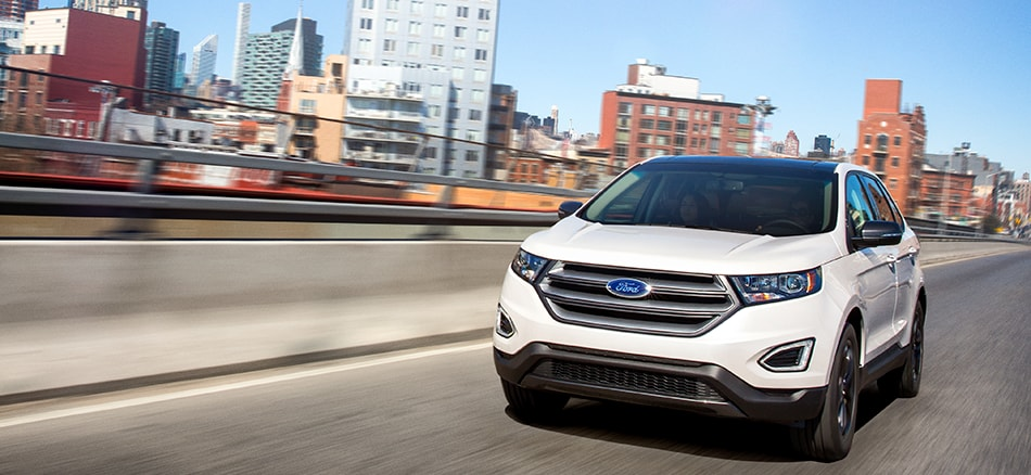 Midsized Crossover Comparison The  Ford Edge Is Challenged By Hyundai Nissan And Kia Competition