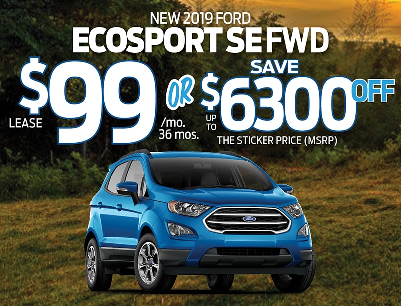Ford Dealers Nj >> 2019 Ford Ecosport Special From Freehold Ford Ford Dealer