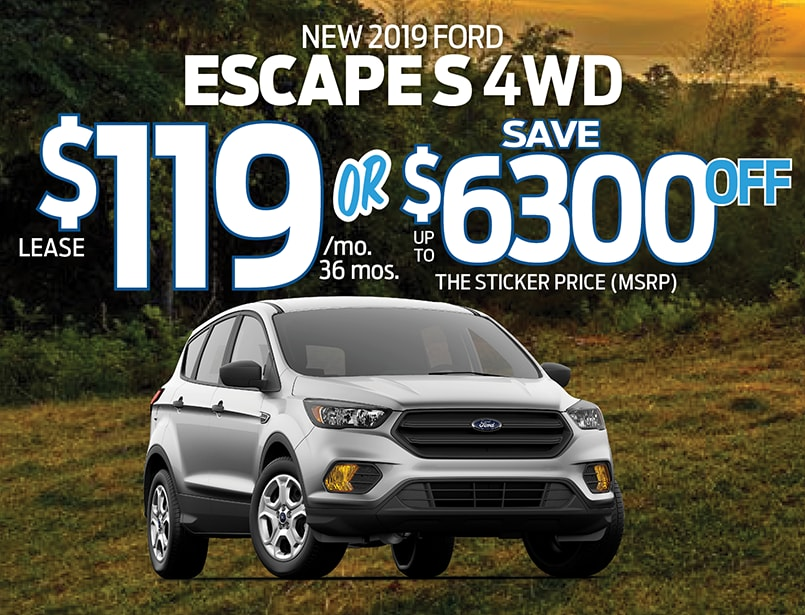 Ford Dealers Nj >> 2019 Ford Escape Special From Freehold Ford Ford Dealer Nj