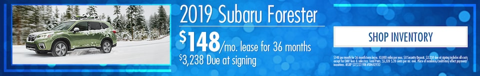 March | 2019 Subaru Forester