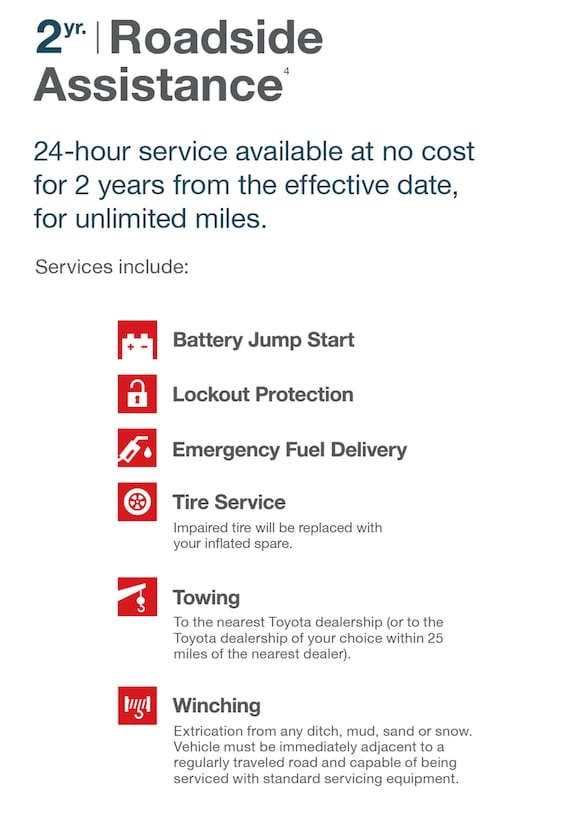 Toyotacare Roadside Assistance Number >> Toyotacare No Cost Maintenance Plan Freeman Toyota