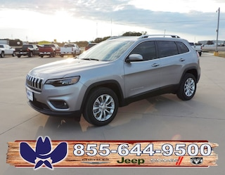 New 2019 Jeep Cherokee LATITUDE FWD Sport Utility For Sale Fairfield TX