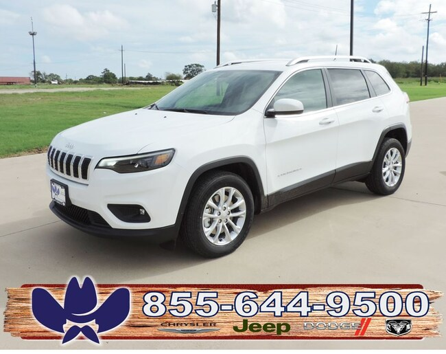 New 2019 Jeep Cherokee LATITUDE FWD Sport Utility For Sale/Lease Fairfield, TX