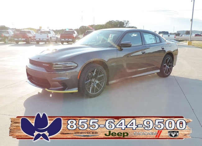 New 2019 Dodge Charger R/T RWD Sedan For Sale/Lease Fairfield, TX