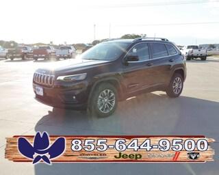 New 2019 Jeep Cherokee LATITUDE PLUS FWD Sport Utility For Sale Fairfield TX