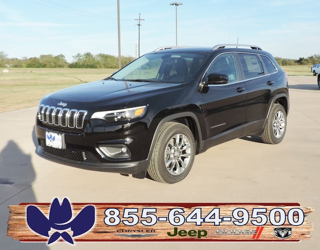 New 2019 Jeep Cherokee LATITUDE PLUS FWD Sport Utility For Sale/Lease Fairfield, TX