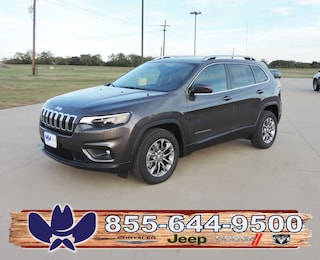 New 2019 Jeep Cherokee LATITUDE PLUS FWD Sport Utility For Sale Fairfield TX