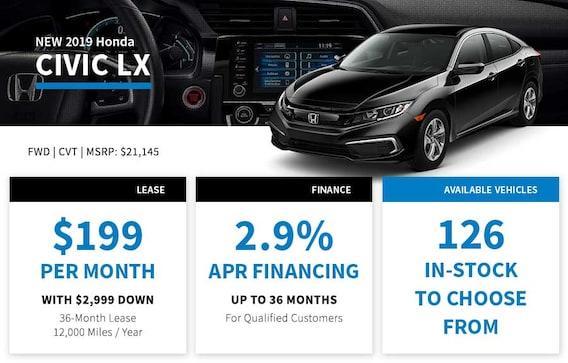 Honda Finance Specials >> New Honda Specials In Santa Ana Ca Freeway Honda