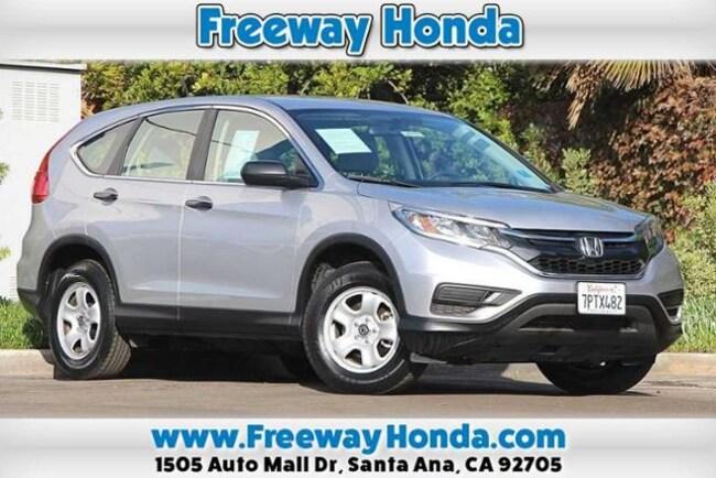 2016 Honda CR-V LX  FWD SUV